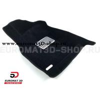 Текстильные 5D коврики с высоким бортом Euromat3D в салон для Skoda Octavia A7 (2013-2020) № EM5D-004507