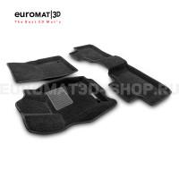 Текстильные 3D коврики Euromat3D Premium в салон для Jeep Grand Cherokee (2010-) № EMPR3D-002760