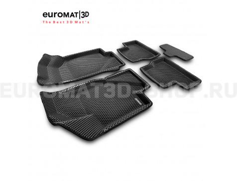 3D коврики Euromat3D EVA в салон для Datsun mi-Do (2015-2020) № EM3DEVA-005310
