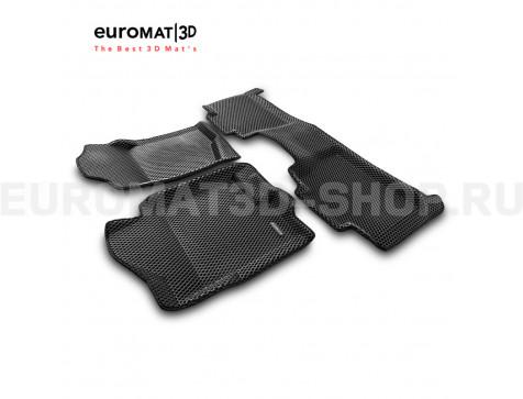 3D коврики Euromat3D EVA в салон для Chevrolet Tahoe (2007-2014) № EM3DEVA-001302