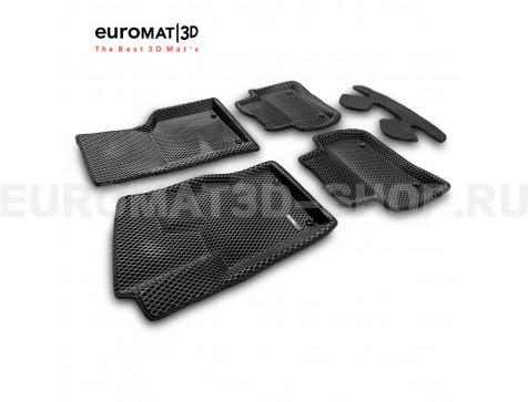 3D коврики Euromat3D EVA в салон для Jaguar F-Pace (2016-) № EM3DEVA-002753