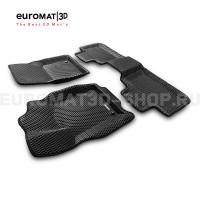 3D коврики Euromat3D EVA в салон для Jeep Grand Cherokee (2010-) № EM3DEVA-002760