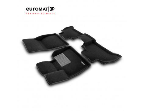 Текстильные 3D коврики Euromat3D Premium в салон для Bmw X5 (G05) (2018-) № EMPR3D-001214