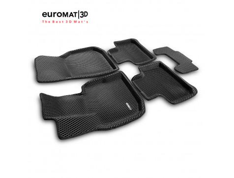 3D коврики Euromat3D EVA в салон для Bmw X3 (G01) (2017-) № EM3DEVA-001222
