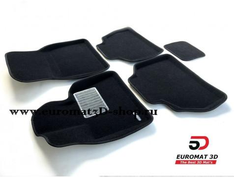 Текстильные 3D коврики Euromat3D Premium в салон для Bmw X7 (G07) (2019-) № EMPR3D-001226